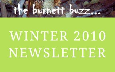 the burnett buzz… Winter 2010