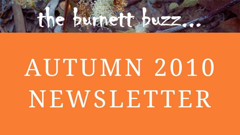 the burnett buzz… Autumn 2010