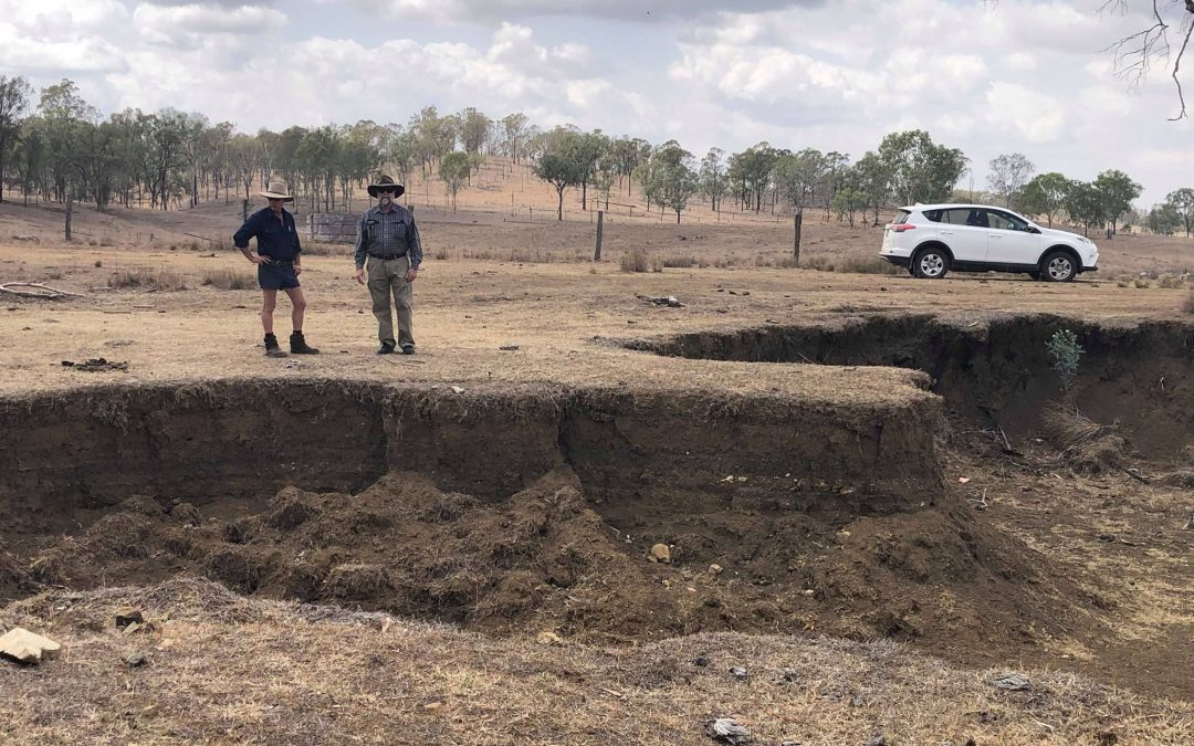 Erosion control advice property visits